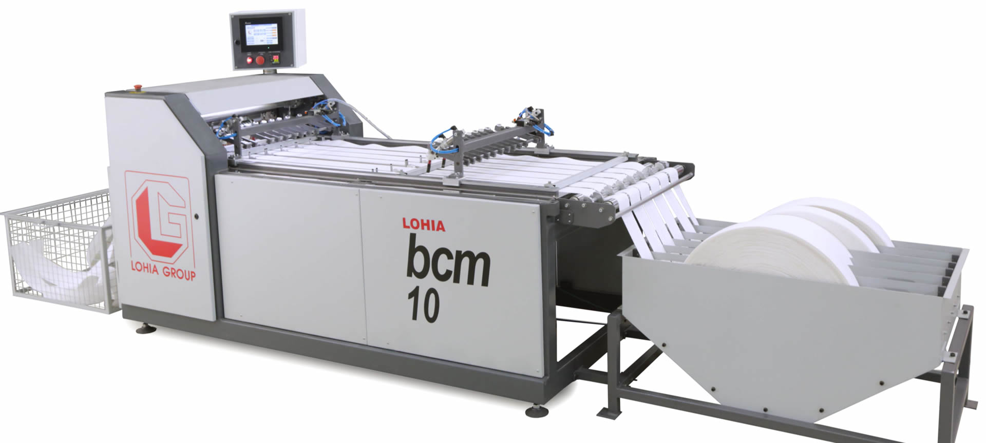 FIBC production high performance automatic fabric cutting machines