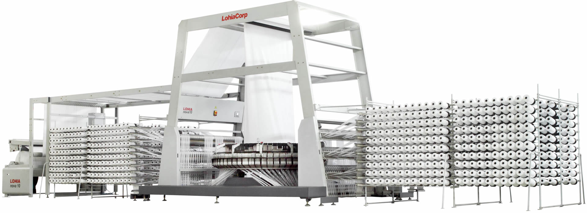 High performance circular loom machines